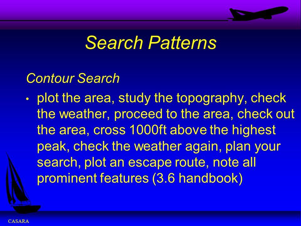 Search Patterns Contour Search