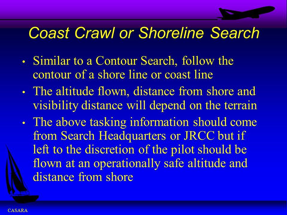 Coast Crawl or Shoreline Search