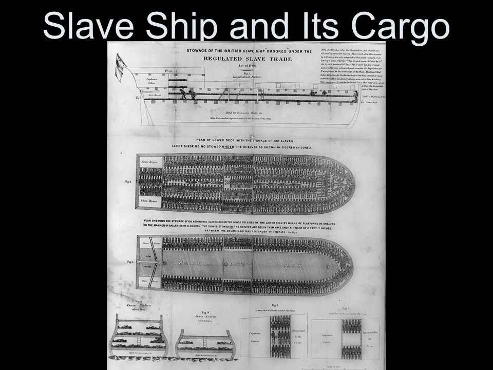 Slave Ship and Its Cargo