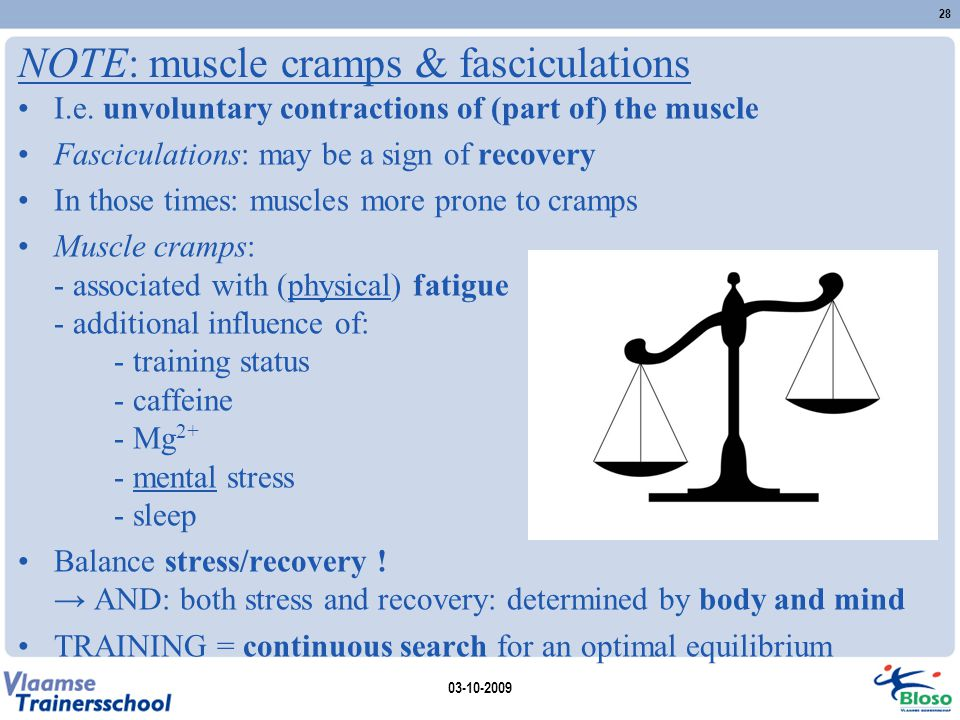 NOTE: muscle cramps & fasciculations