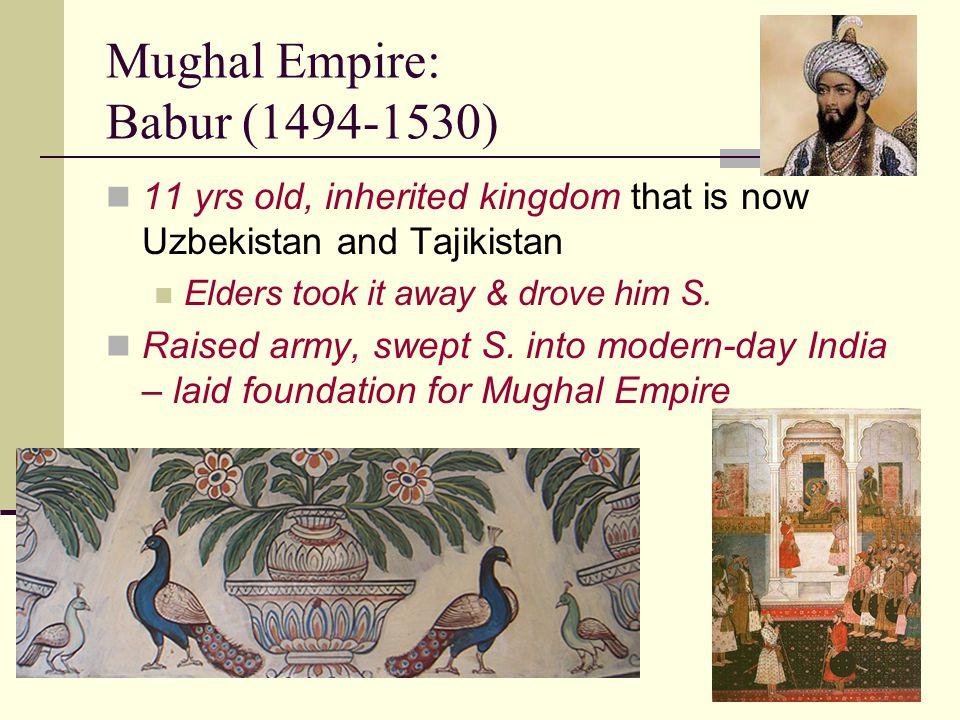 Mughal Empire: Babur (1494-1530)