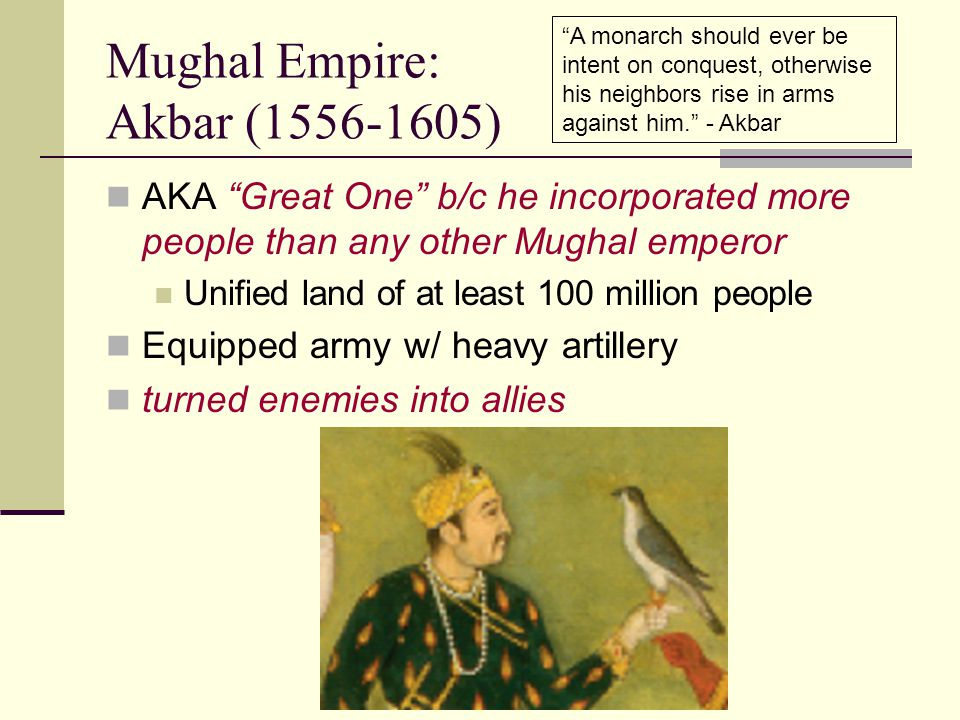 Mughal Empire: Akbar (1556-1605)