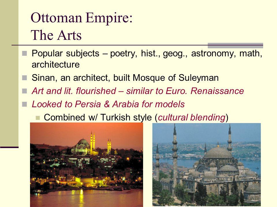 Ottoman Empire: The Arts