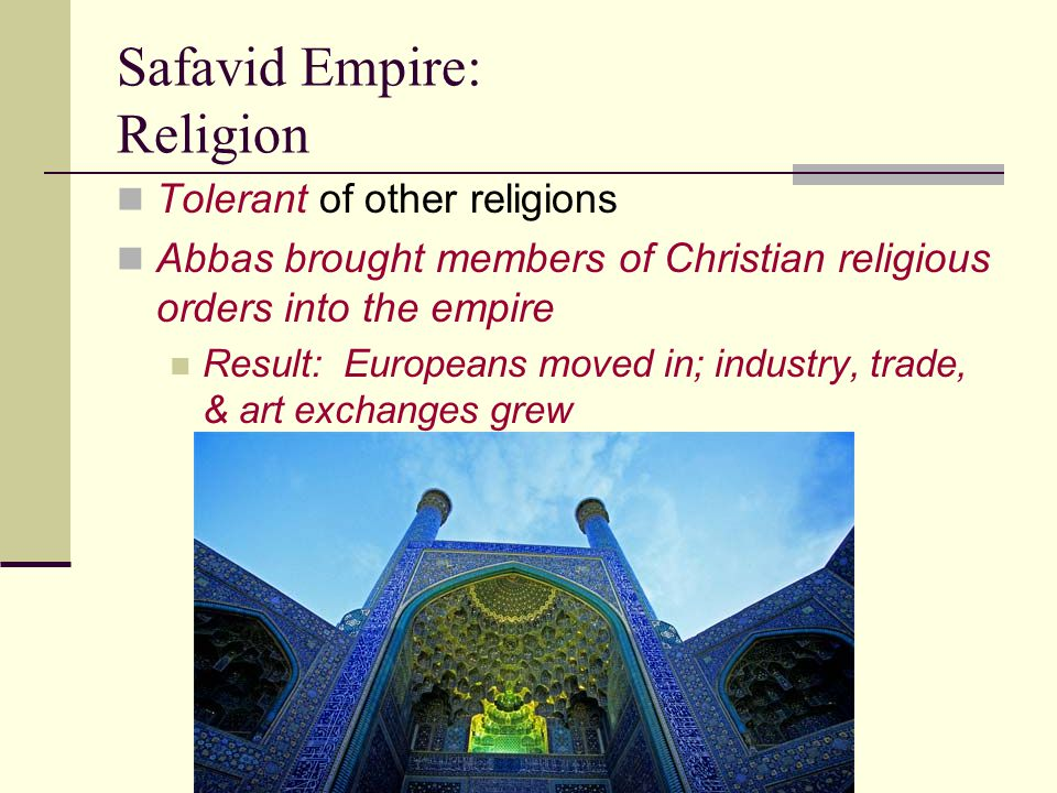 Safavid Empire: Religion