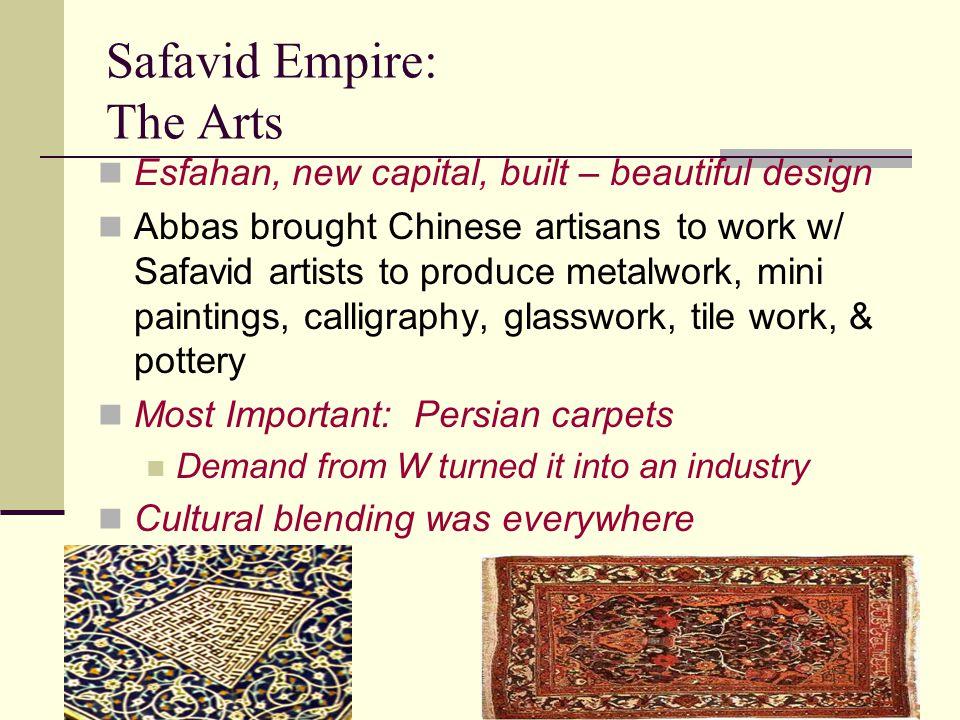 Safavid Empire: The Arts
