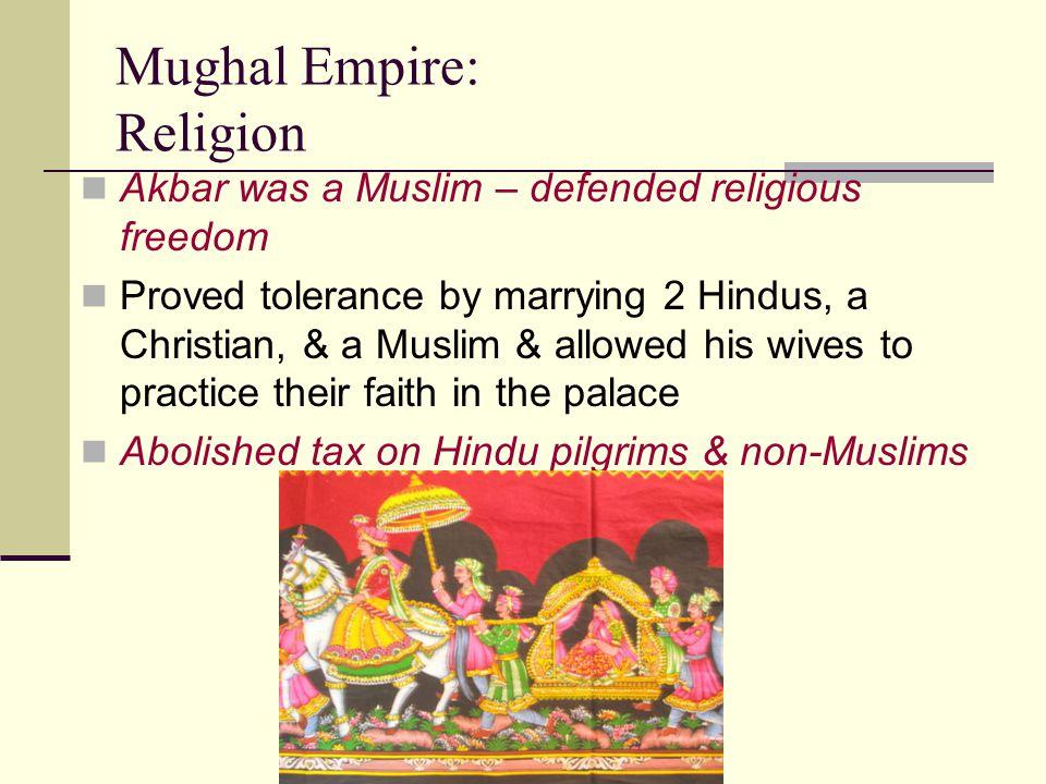 Mughal Empire: Religion