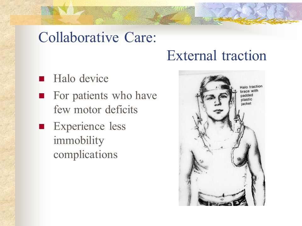 Collaborative Care: External traction