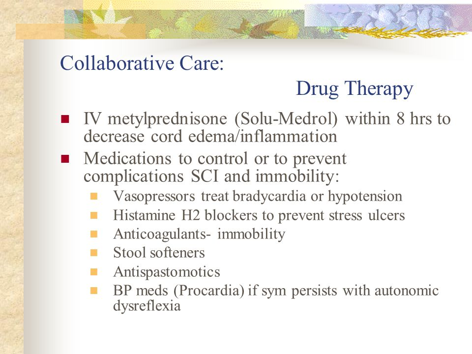 Collaborative Care: Drug Therapy
