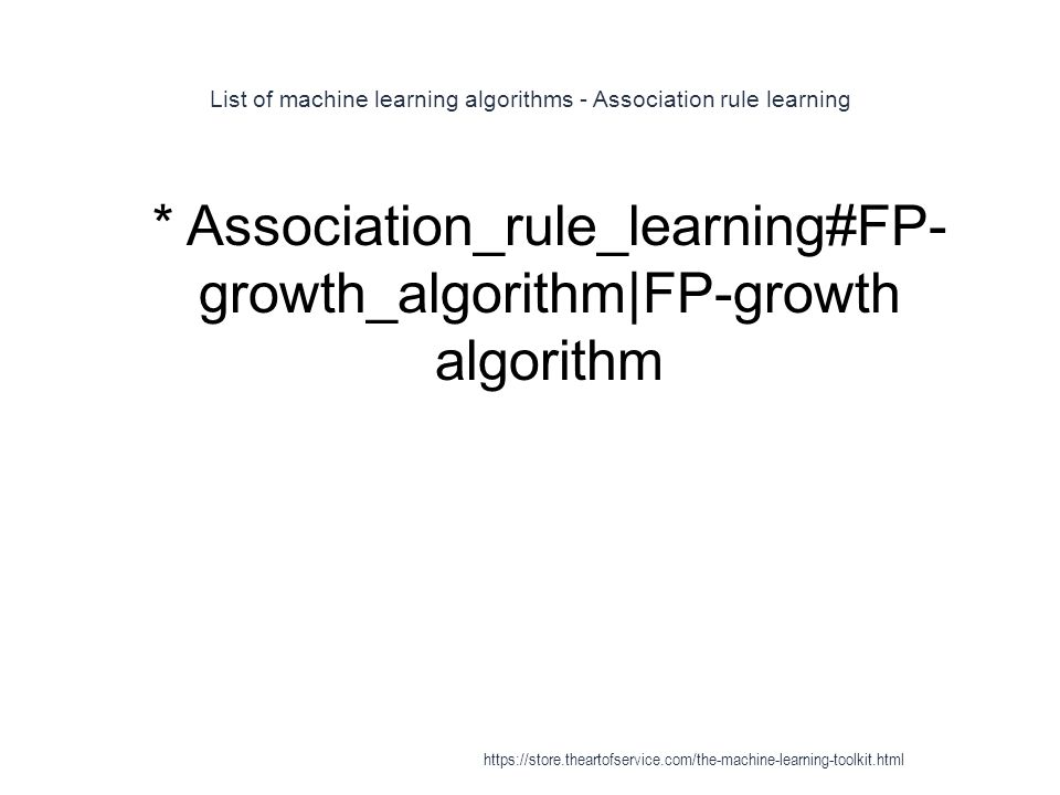 List of machine learning algorithms - Association rule learning