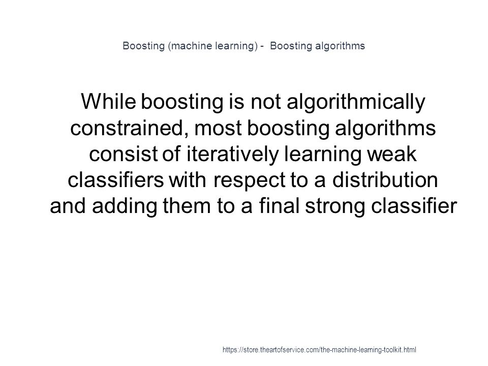 Boosting (machine learning) - Boosting algorithms
