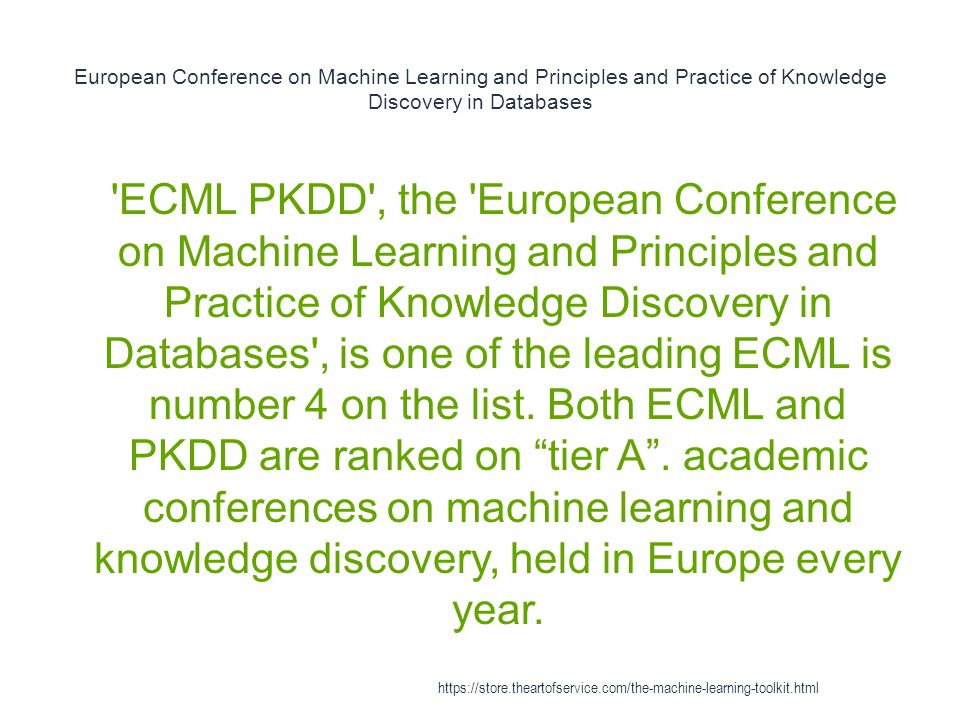 European Conference on Machine Learning and Principles and Practice of Knowledge Discovery in Databases