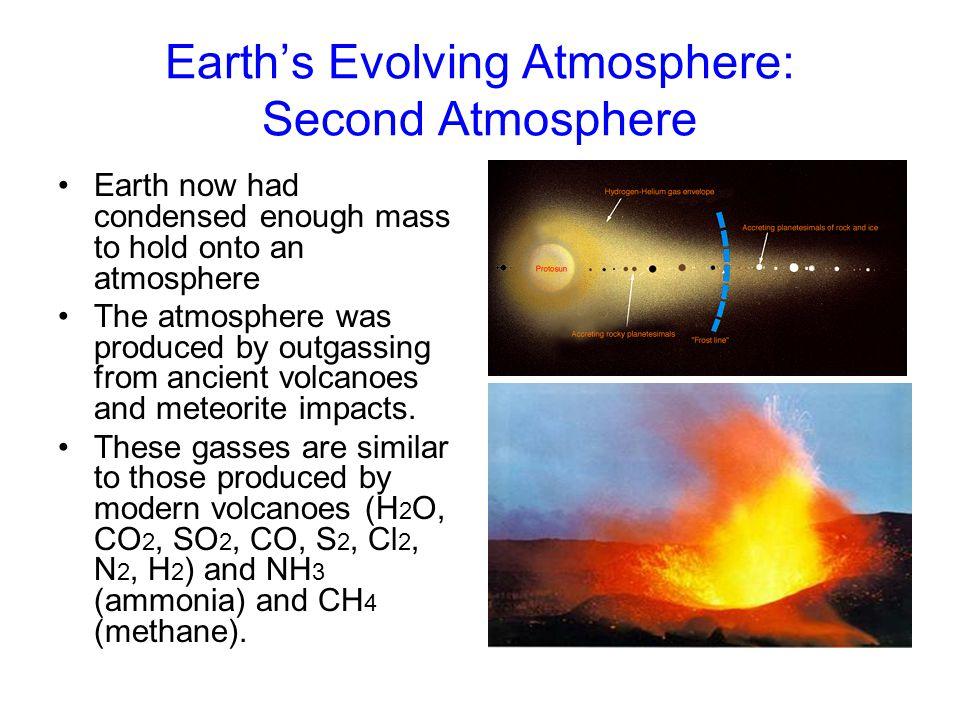 Earth's Evolving Atmosphere: Second Atmosphere