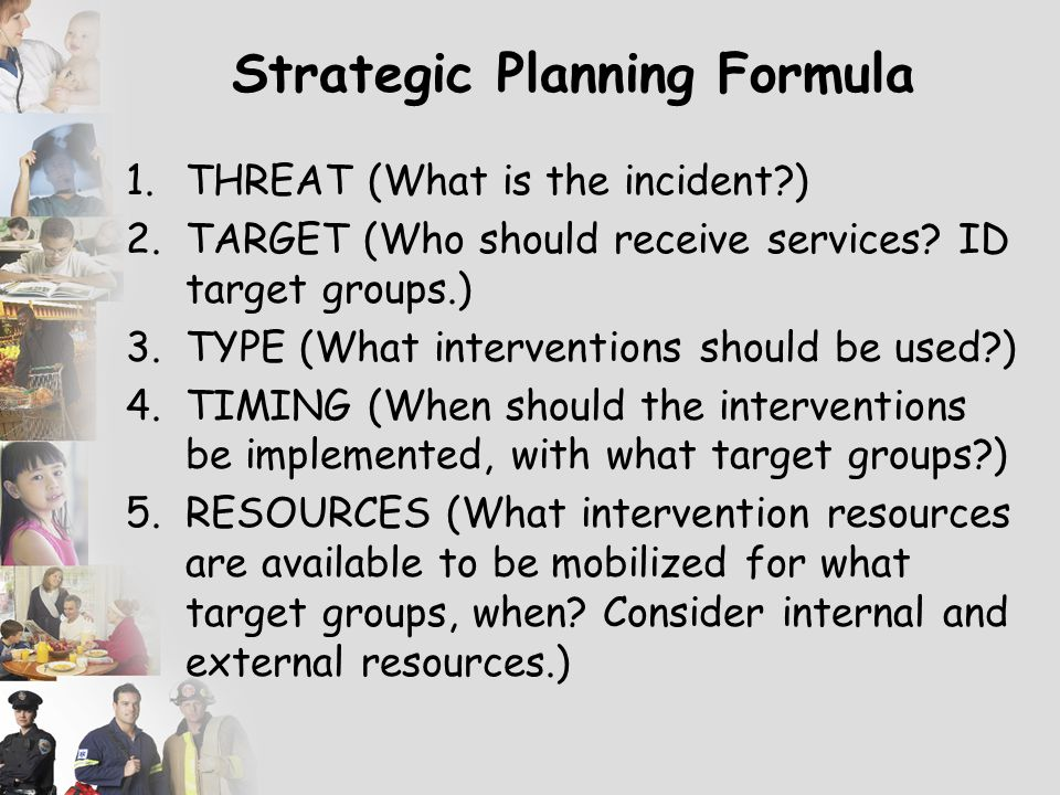 Strategic Planning Formula