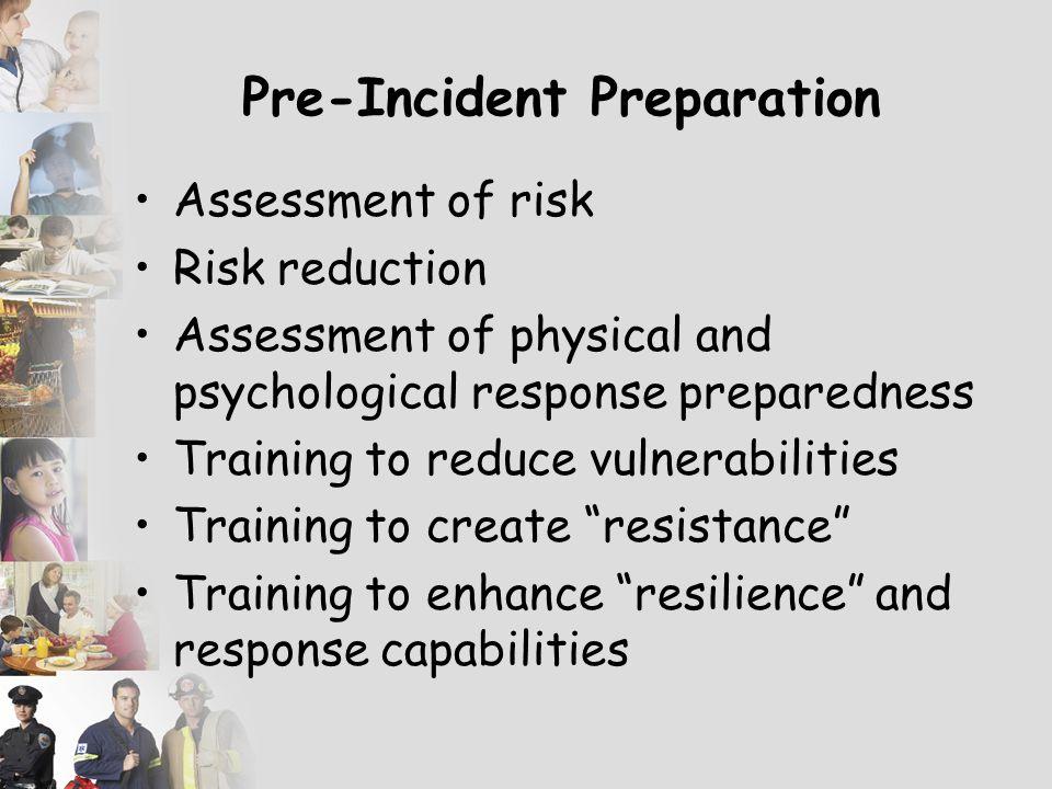 Pre-Incident Preparation