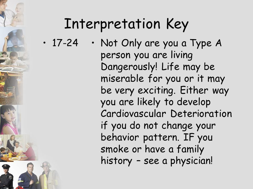 Interpretation Key 17-24.