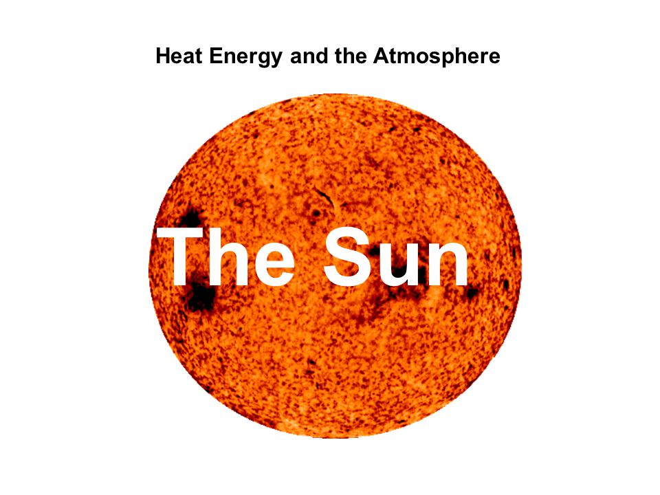 Heat Energy and the Atmosphere