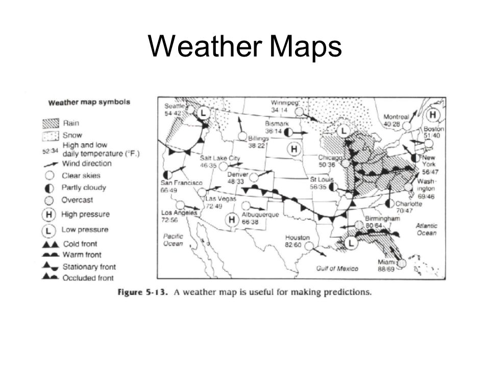 Weather Maps Blue book page 71