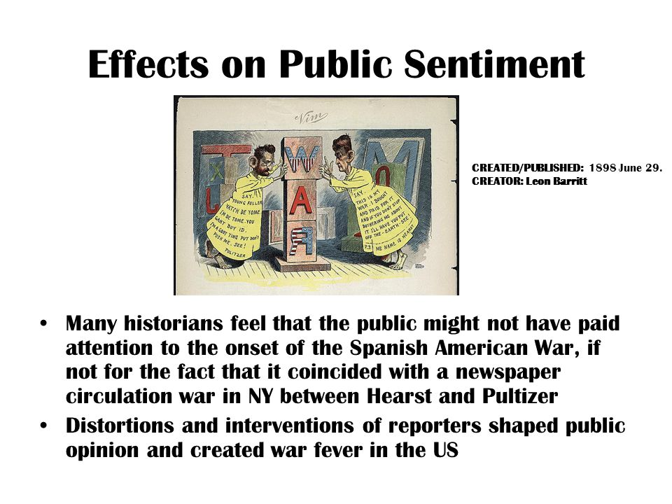 Effects on Public Sentiment