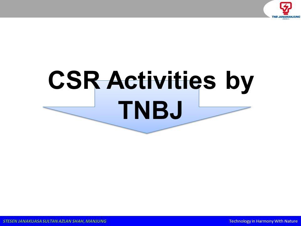 CSR Activities by TNBJ