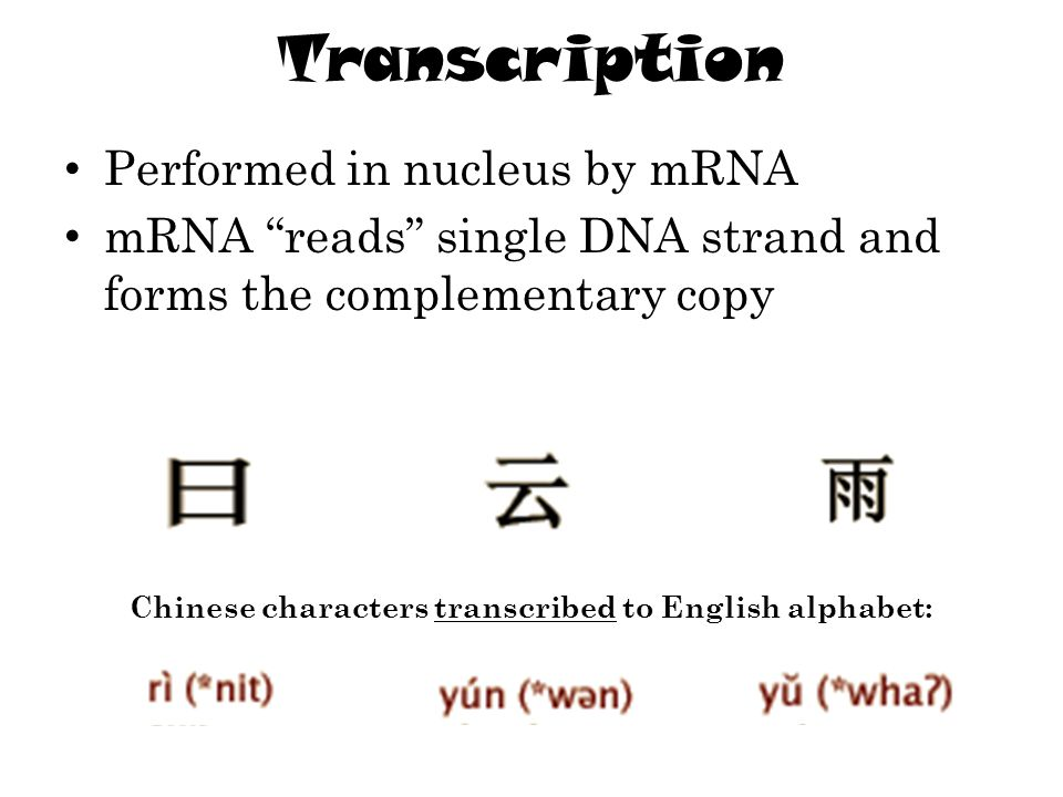 Chinese characters transcribed to English alphabet: