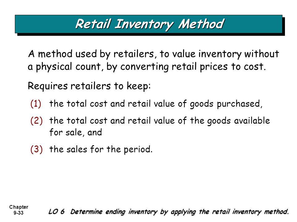 Retail Inventory Method
