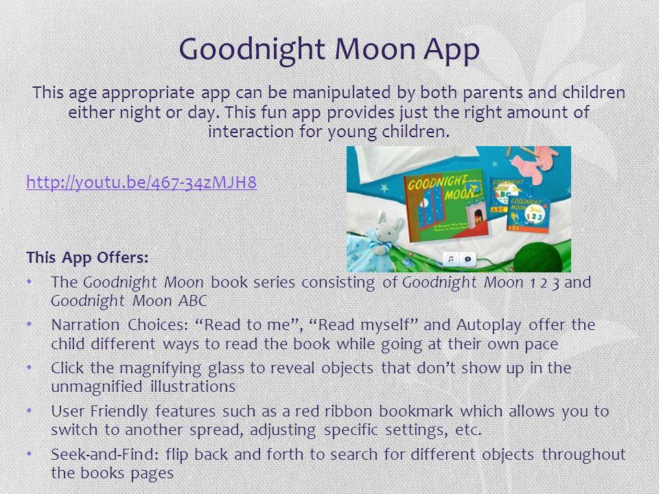 Goodnight Moon App