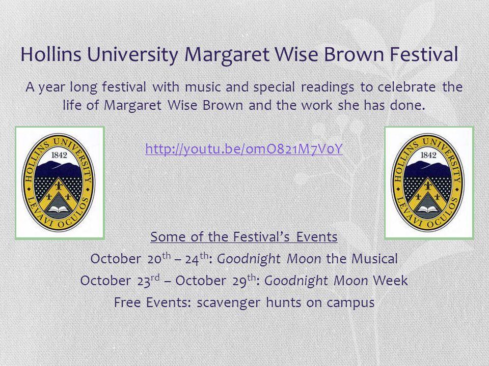 Hollins University Margaret Wise Brown Festival