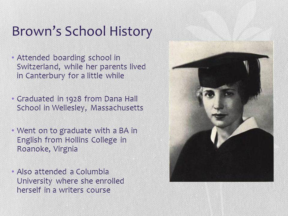 Brown's School History