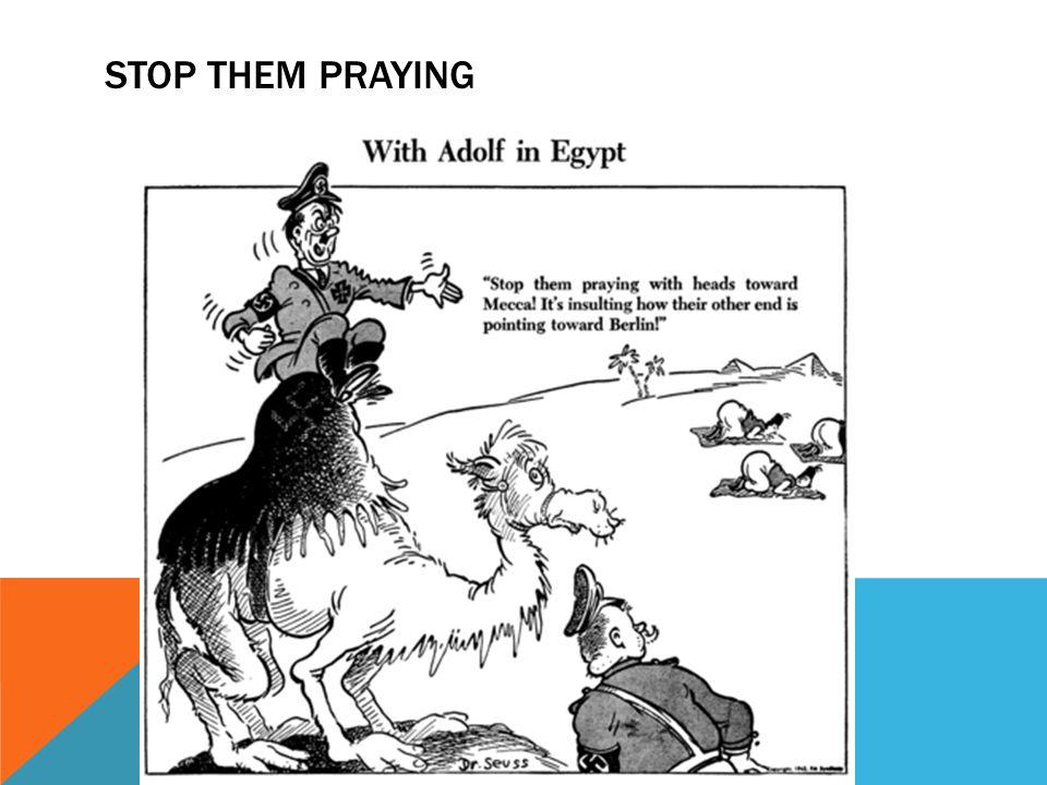 Stop Them Praying
