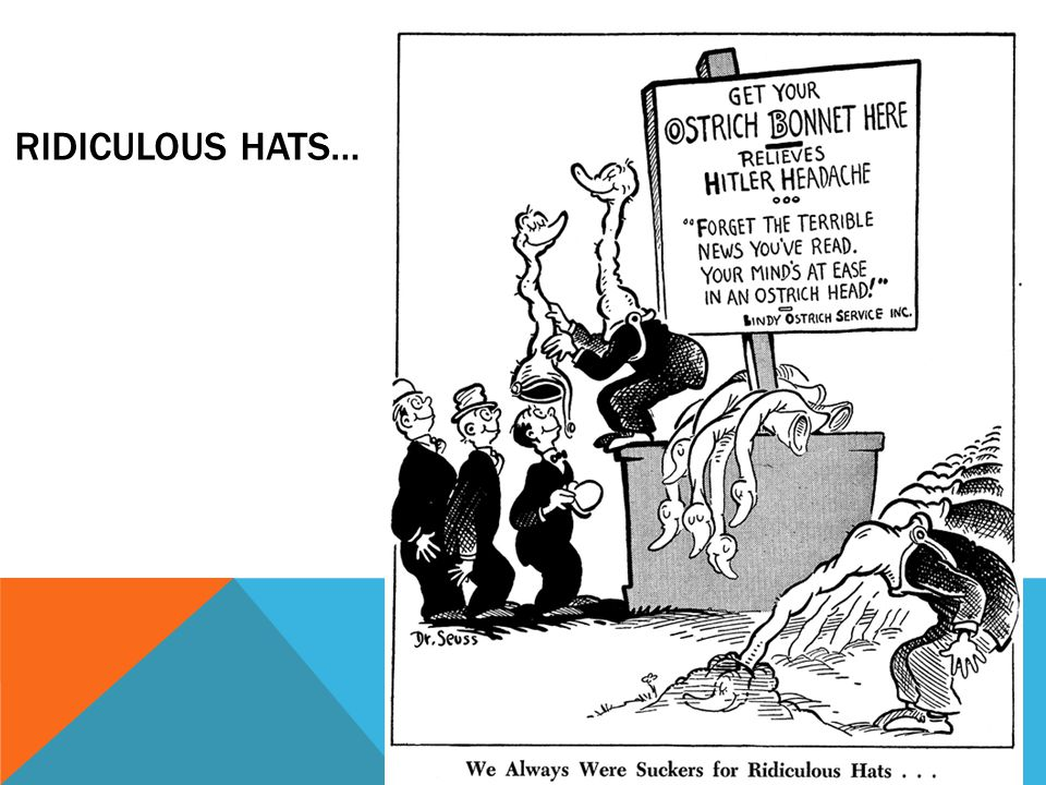 Ridiculous Hats…