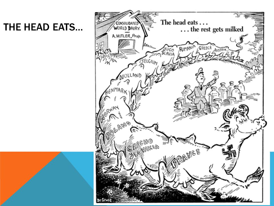 The Head Eats…
