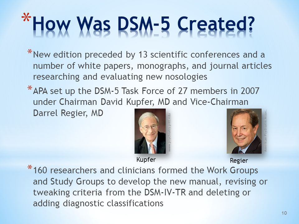 How Was DSM-5 Created