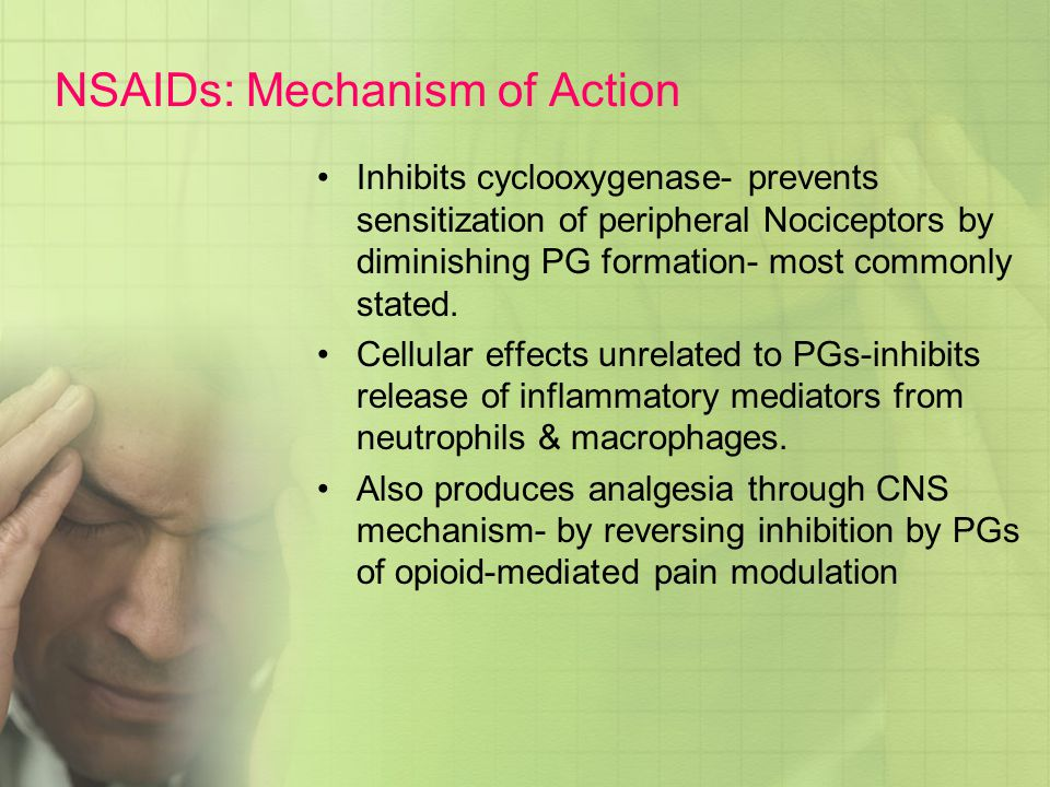 NSAIDs: Mechanism of Action