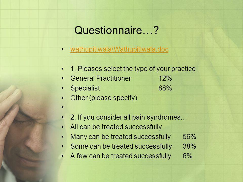 Questionnaire… wathupitiwala\Wathupitiwala.doc