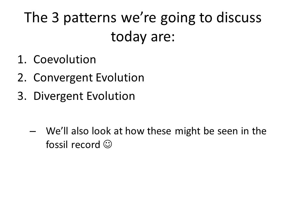 The 3 patterns we're going to discuss today are:
