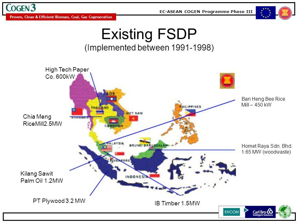 Existing FSDP (Implemented between 1991-1998)