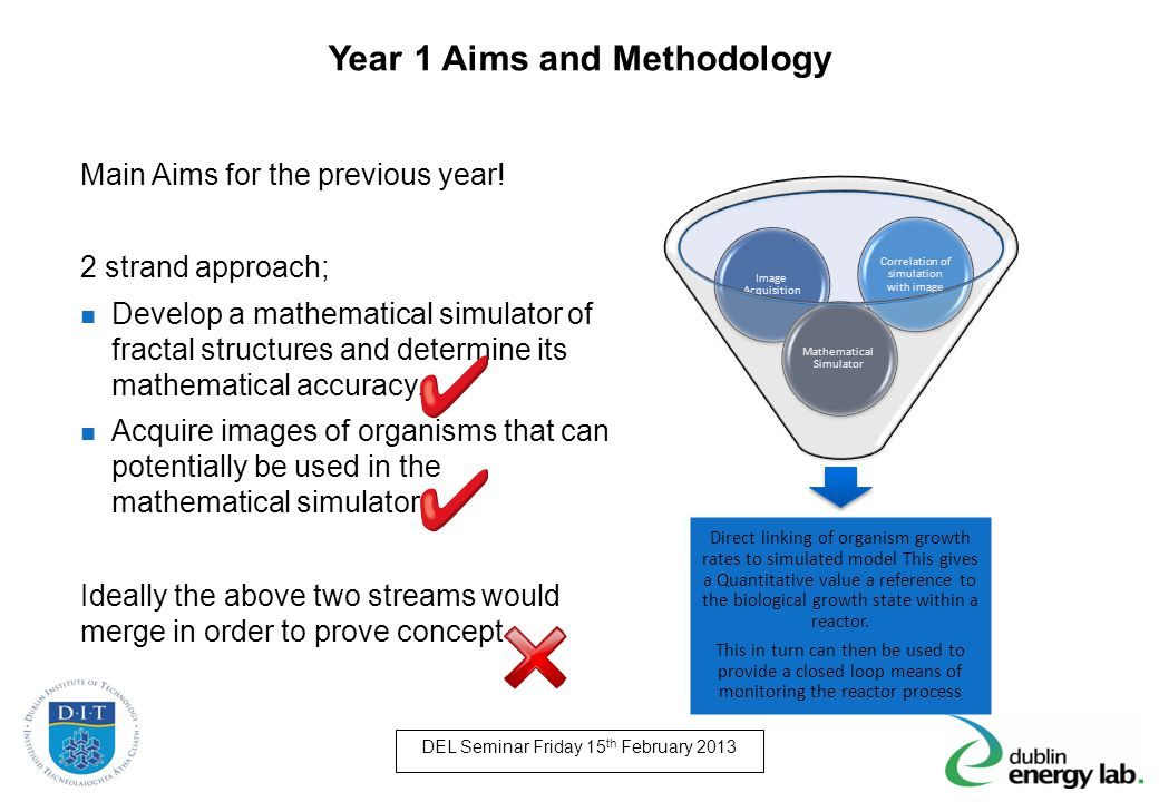 Year 1 Aims and Methodology