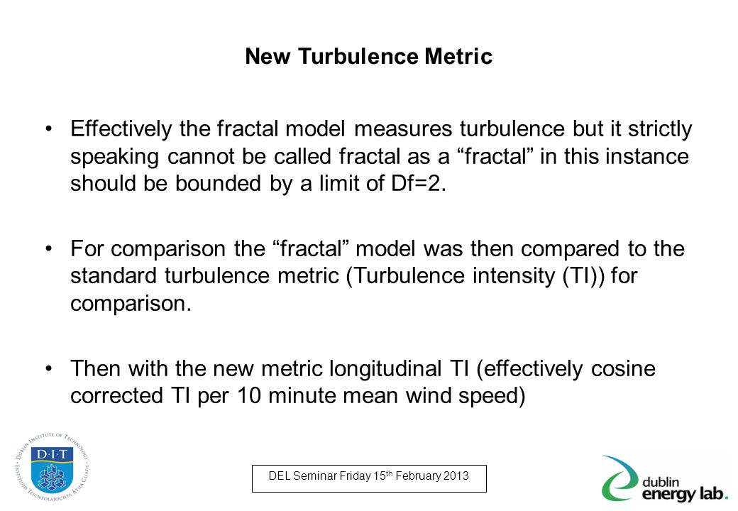 New Turbulence Metric