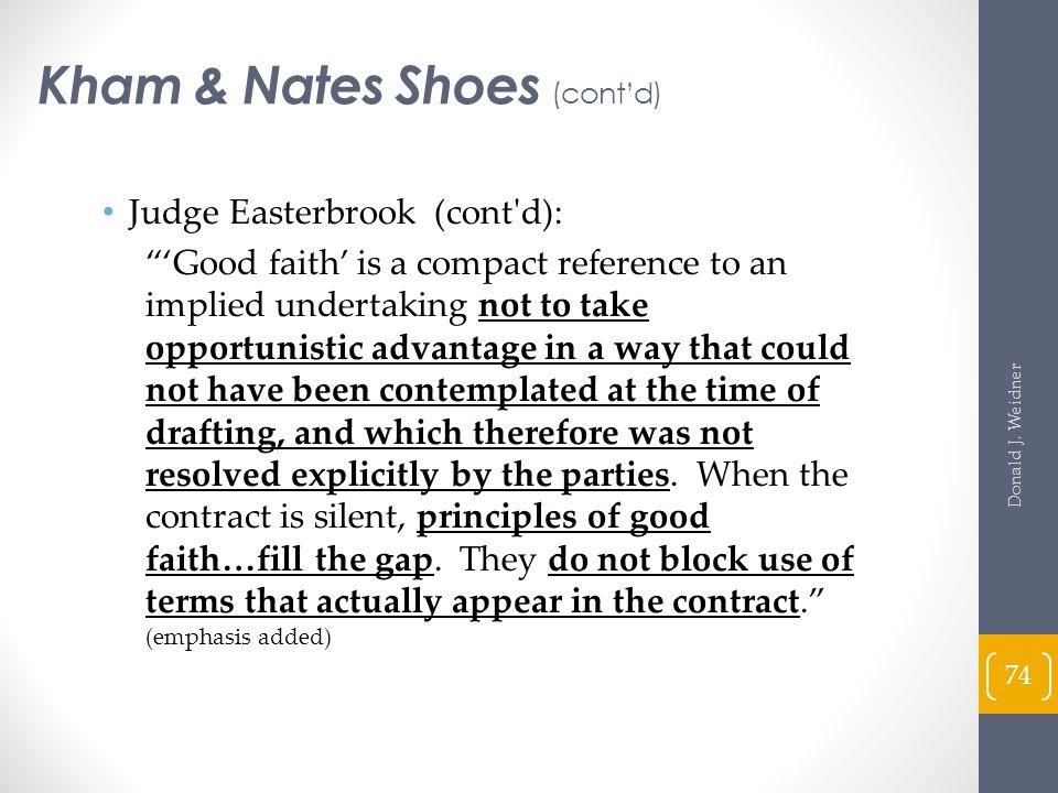 Kham & Nates Shoes (cont'd)