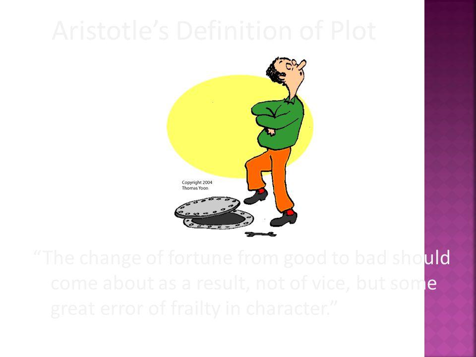 Aristotle's Definition of Plot