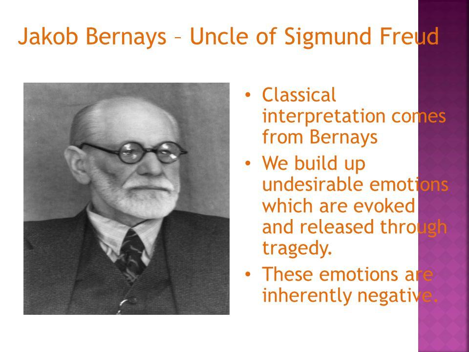 Jakob Bernays – Uncle of Sigmund Freud