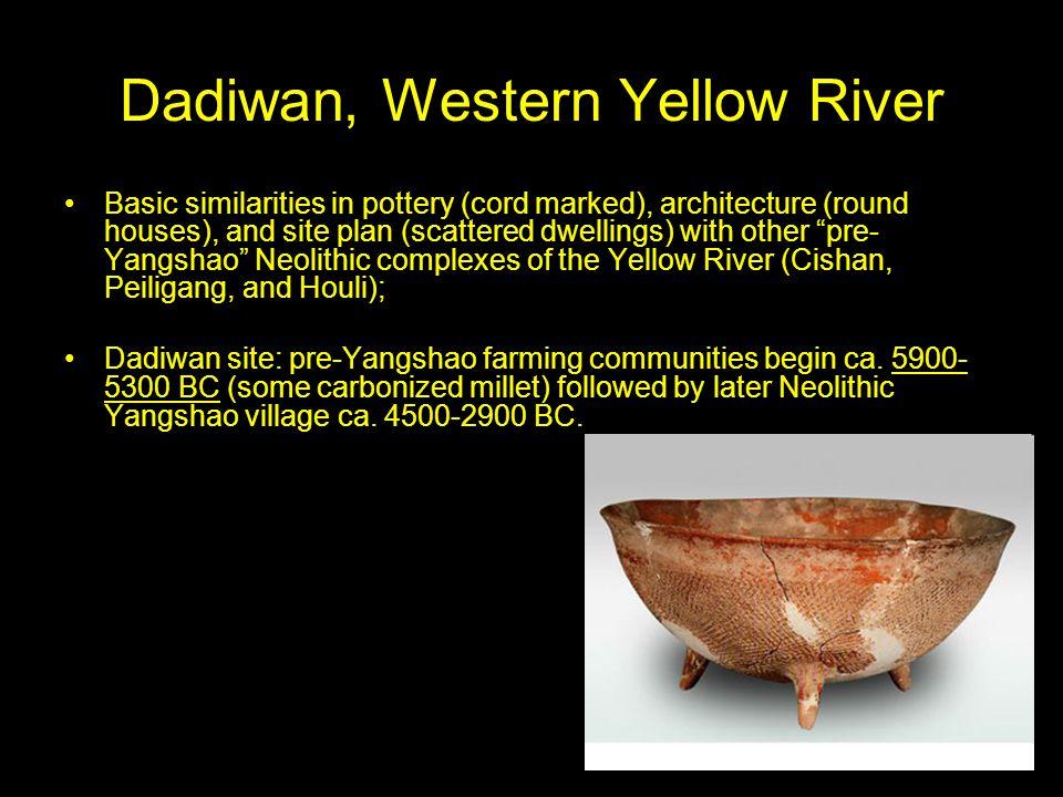 Dadiwan, Western Yellow River