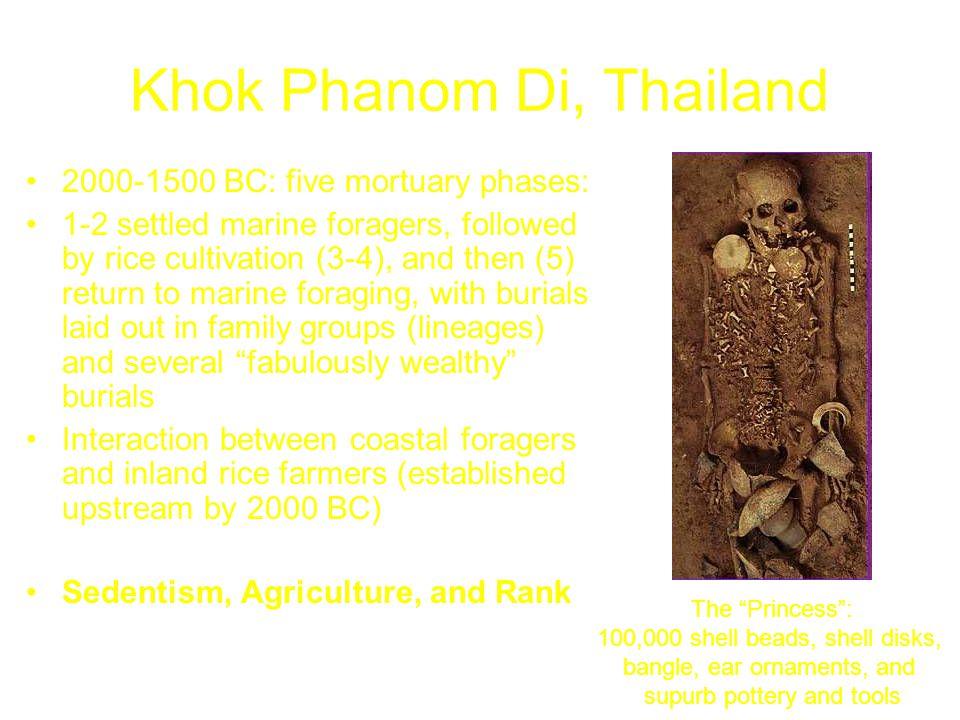 Khok Phanom Di, Thailand