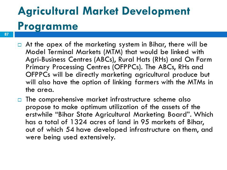 Agricultural Market Development Programme