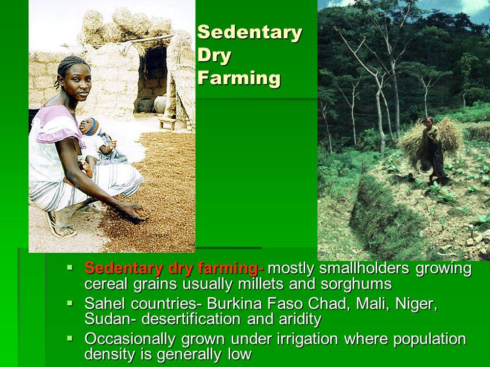Sedentary Dry Farming