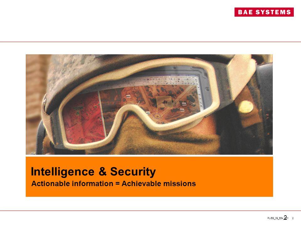 Intelligence & Security