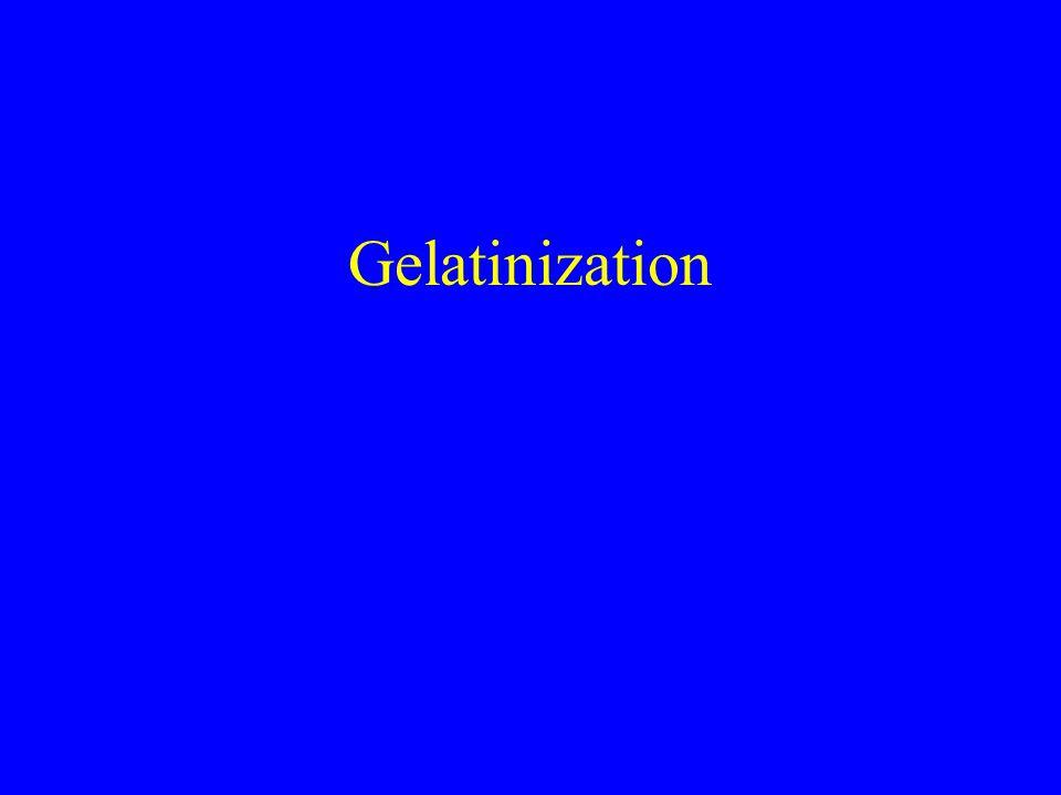 Gelatinization