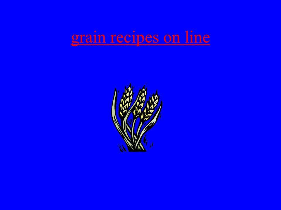 grain recipes on line