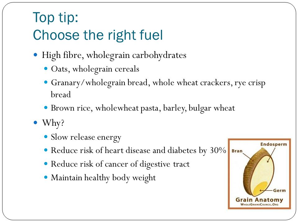 Top tip: Choose the right fuel