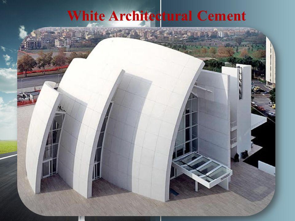 White Architectural Cement